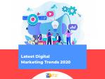 Latest Digital Marketing Trends of 2020